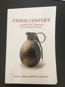 Political Science Text - Ethnic Conflict