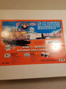 Lionel Nabisco promotional train set