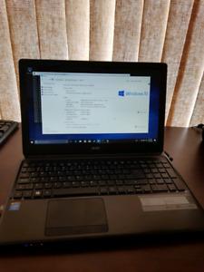 """Clean laptop - Acer 15"""" Aspire N2820 Cpu 4 GB, 500 GB hdd"""