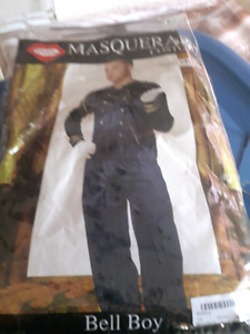 BRAND NEW MEN'S BELLBOY COSTUME