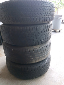 All season tires and