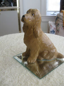 OLD VINTAGE GOLDEN RETRIEVER BACK from the HUNT