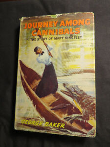 Journey Among Cannibals by Baker, 1963 Hardcover & DJ