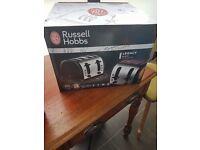 BNIB Russell Hobbs 4 Slice Legacy Toaster