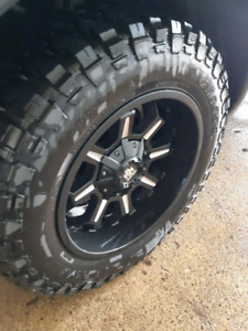 Like NEW 20x10 5lug on 35x12.5r20 cf3000