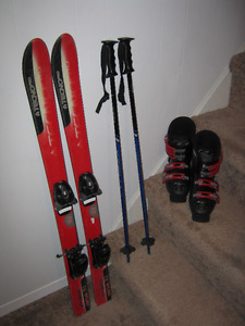DOWNHILL SKI SETS - COMPLETE KID'S, YOUTH & ADULT SETS