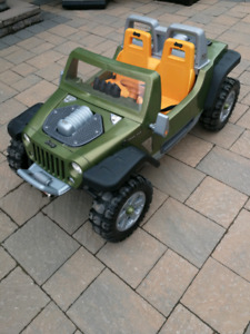 Fisher Price Kids Ride-On Jeep
