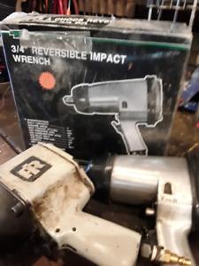"""Ingersol Rand 3/4"""" Air Impact Gun"""