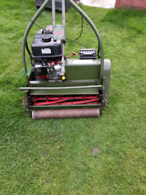 24 inch cut electric start lawnmower
