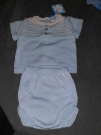 Spanish baby boys outfit age 6 months brand new