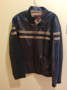 XL men's brown leather jacket bought at Danier Leather store