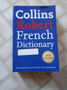 Collins Robert French Dictionary. Very Good Condition