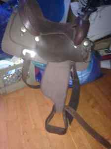 15 inch king series western saddle