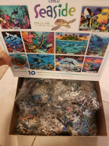 Seaside Puzzles (6 unopened puzzles left)