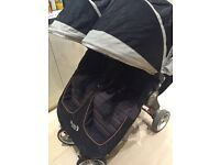 City Mini Double by baby jogger - latest version with new logo
