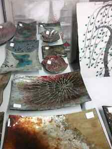 Glass dishes, coasters, necklaces & metal wall art + 600 booths  Cambridge Kitchener Area image 1