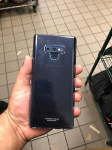 Note 9 for sale 128gb blue