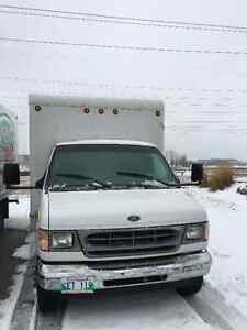 2001 Ford E-350 Cube Van *COMMERCIAL SAFETY*