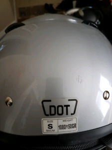 MOTORCYCLE HELMET SIZE SMALL  $30