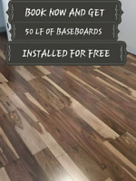 COUPLE'S FLOORING -0.75 sq ft BOOK NOW AND GET 50 LF OF BASEBOAR