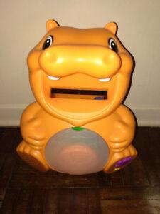 Kids Toys. Backyardigan, Hungry Hippo, Fisher Price Teddy Bear