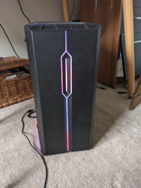 Gaming Pc and windows10-hardly used, very good condition