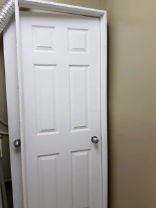 Interior only 1 door with casing and seperate 2 doors for sale