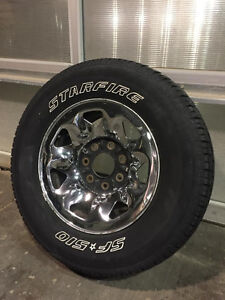 7-Bolt F-150 (7700 Series) Spare Rim and Tire