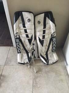 """Sherwood 31"""" Junior Goalie Pads, excellent condition. 3 years ol"""