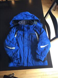Boys karbon ski jacket