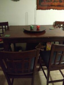 High set dinning room table
