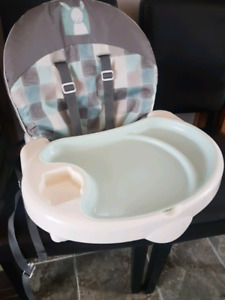 Safety first booster seat