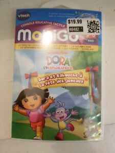 Vtech Touch Learning System Cartridge Educational Dora the Explo