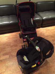 Compact and Lightweight Stroller and Car Seat
