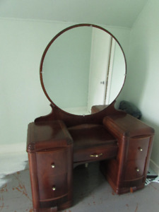 Antique Dressing Table or Vanity