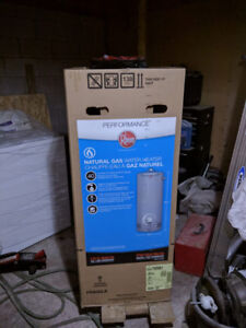 Natural gas water heater for sale