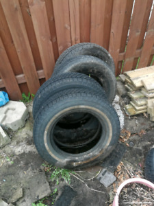 2 winter tires and 2 all season tires P 205 70R15