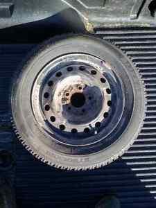 215 60 R15 Winter tires on steel rims!!
