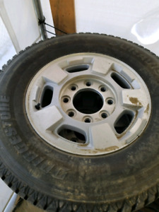 GMC 2500 hd tires and rims