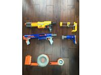 2 x large Nerf Guns