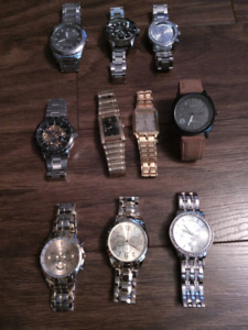 Lot of mens watches!!