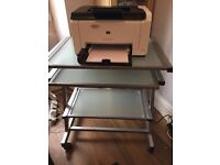 Moveable Computer and Printer Stand/Console
