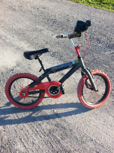 "Hot Wheels 16"" Boys Bike"