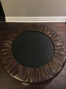 Exercise mini trampoline