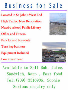 Prime location - Businesses for Sale