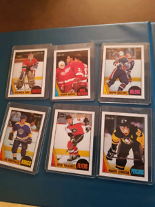 1987-88 OPC HOCKEY CARD SET FOR SALE Excellent Mint Condition