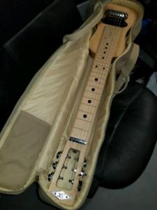 Lap slide guitar