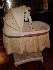 bassinet with mobile