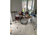 Drum kit (red)