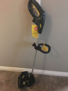 """Yardworks 12"""" grass trimmer. NEW with tags."""